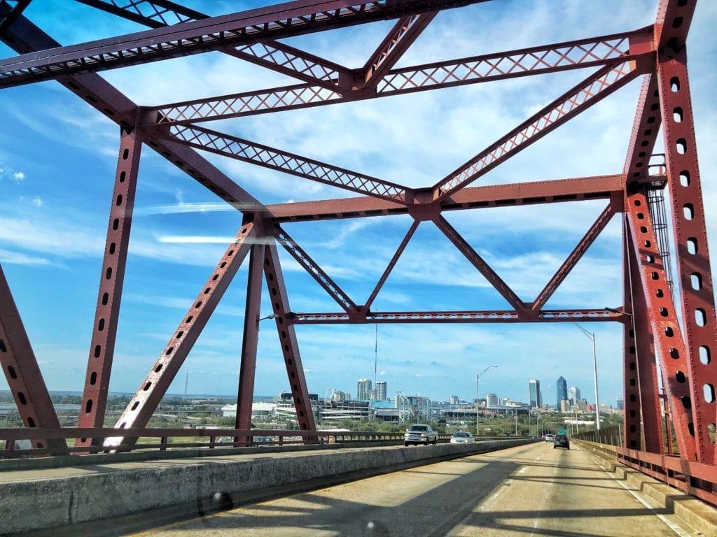 Iconic Bridges of Jacksonville Florida