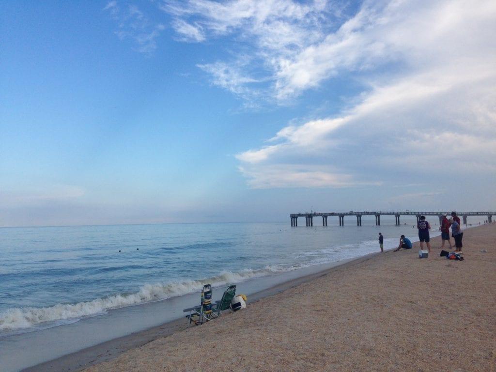 Best Beaches in Jacksonville Florida - St. Augustine Beach Fishing Pier