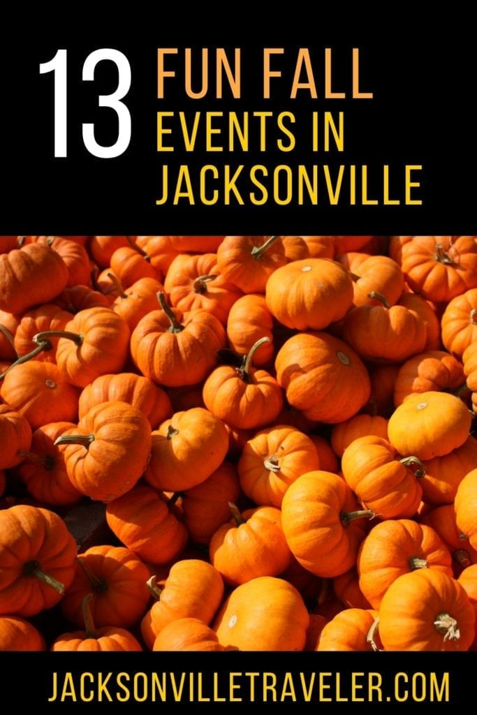 Fun Fall Events in Jacksonville Florida